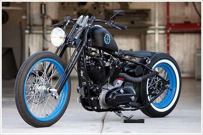 DP Customs - 'Seventy Three' Harley Ironhead - Pipeburn - Purveyors of Classic Motorcycles, Cafe Racers & Custom motorbikes