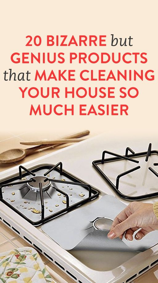 20 Bizarre But Genius Products That Make Cleaning Your House So Much Easier