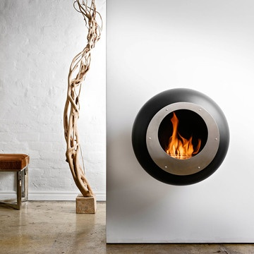 Cocoon Vellum Fireplace Black now featured on Fab.