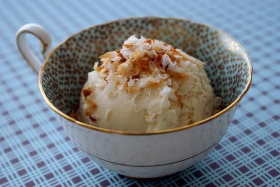 Toasted Coconut Ice Cream | desserts | Pinterest