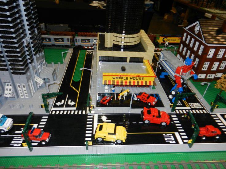 Waffle House in Lego City