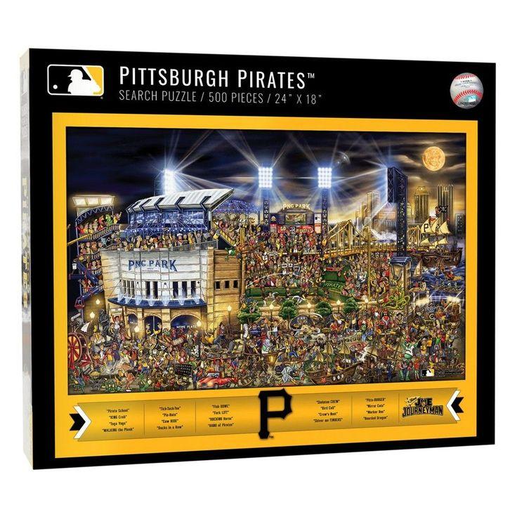 MLB Pittsburgh Pirates 500pc Find Joe Journeyman Puzzle