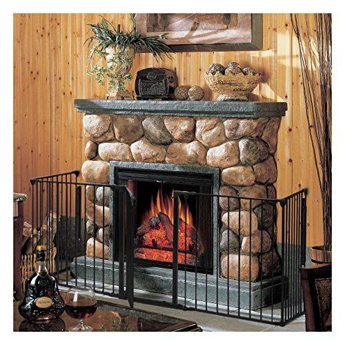 "Fireplace Baby Safety Fence Hearth Gate BBQ Metal Fire Gate Pet Dog Cat. Brand New And Good Quality. Safety For Use Around Fireplaces, Grills, Wood Burning Stoves, Etc. Heavy Duty Tubular Steel Construction All Joints Easily Rotate And Lock For Secure Attachment. A Freestanding Play Area With Optional Extensions Light Weight, Sturdy And Easy To Assemble. Specifications Material : Steel+Plastic Individual Panels: 25"" X30"". Overall Gate Width: 120"" Overall Gate Height 30"" Door Dimensions:17""…"