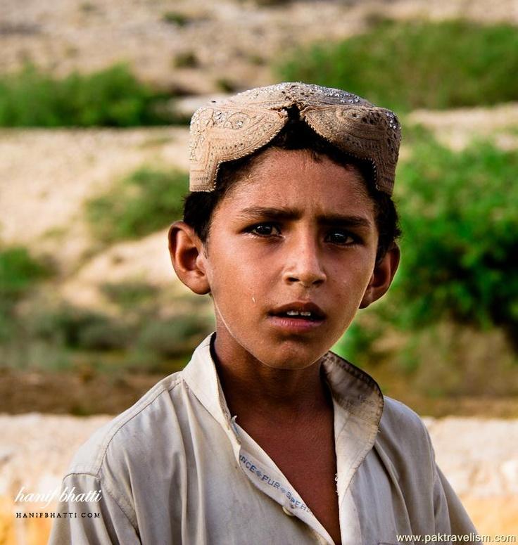 Sindhi boy Kirthar National Park, Pakistan Cultural