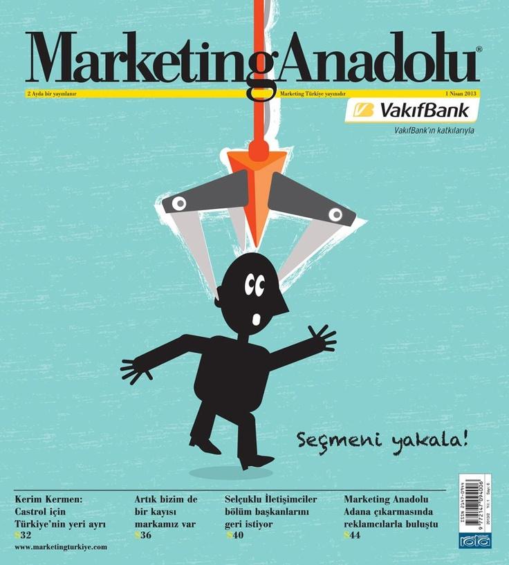 Marketing Anadolu dergisi, Nisan sayısı yayında! Hemen okumak için: http://www.dijimecmua.com/marketing-anadolu/