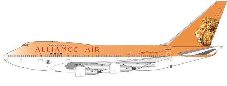 Alliance Air (South African) 747SP-44 Reg# ZS-SPA