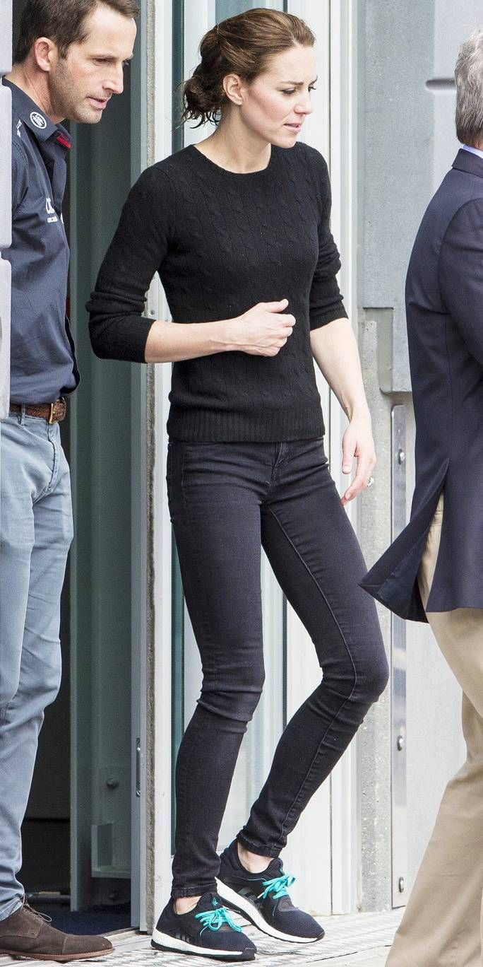 ac3c1eac1e Kate Middleton was seen heading back to London after an afternoon spent  sailing in Portsmouth, England on May 20, 2016