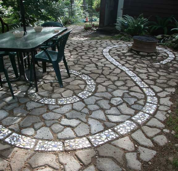 Reclaimed Concrete Blocks: 1000+ Images About Patios, Paths Walkways On Pinterest