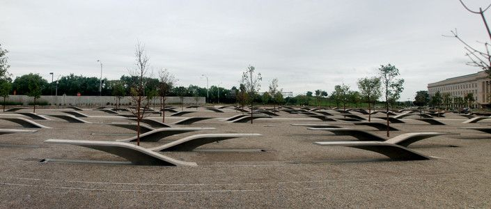 Gallery of Pentagon Memorial / KBAS Studio - 9