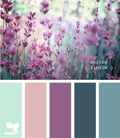 Great color pallet for the girls room