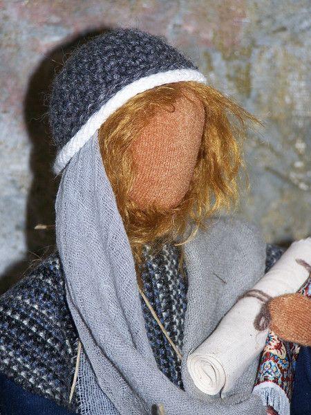 """Weiteres - Biblische Erzählfigur """" Händler """" - ein Designerstück von gabis-figurenwerkstatt bei DaWanda"""