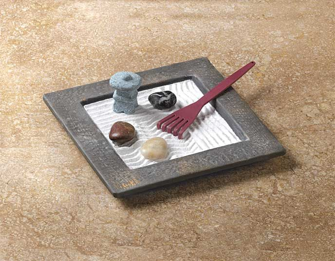 Miniature Zen Garden Is A Coffee Table Conversation Piece That Brings Peace Of Mind Includes