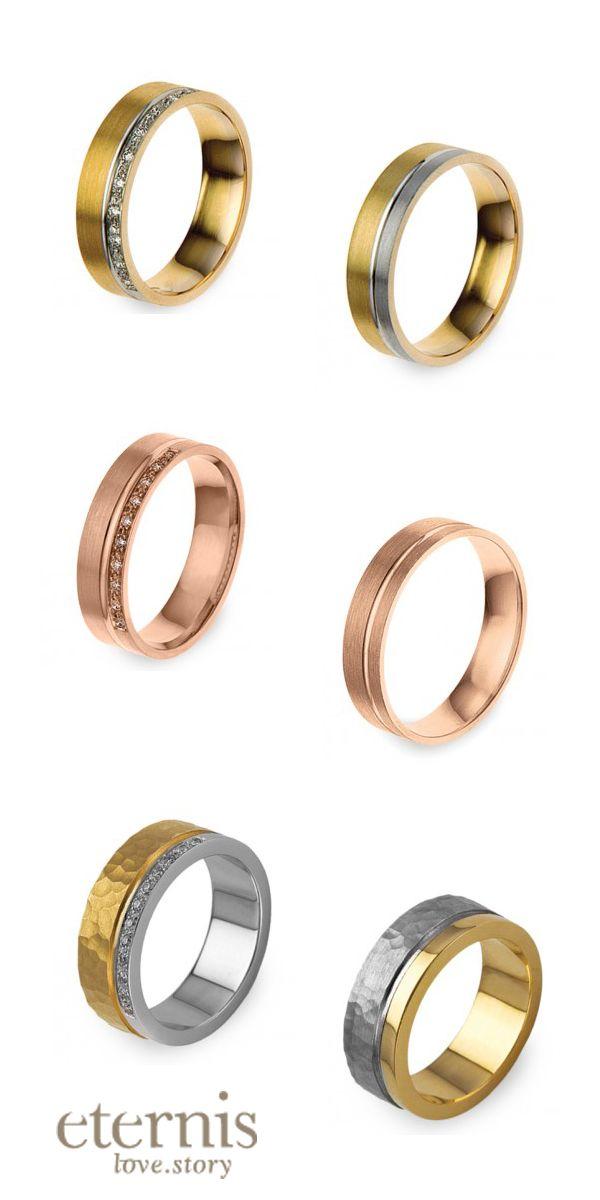 Alianças Eternis Ouro branco, ouro amarelo e ouro rosa Opções: 9k , 14k e 19,2K (para saber mais detalhes destes modelos entre em contacto connosco ecommerce@lojasgois.com)
