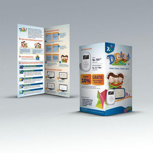 Desain brosur XL Dekat PT. XL. Axiata, Tbk. www.simplestudioonline.com