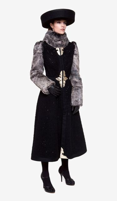 Coat from the Maison Noir collection.