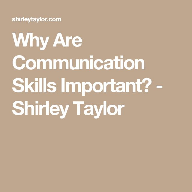 communication skills are important to people Good people skills also extend to include problem-solving abilities, empathy for others and a willingness to work together toward the common good communication.