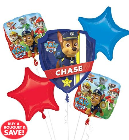 PAW Patrol Balloons - PAW Patrol Birthday Balloons - Party City