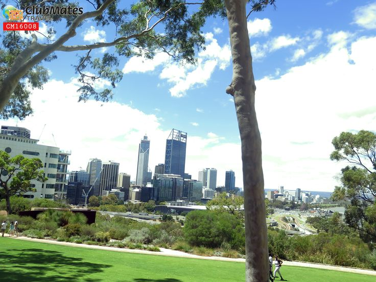 City view of Perth