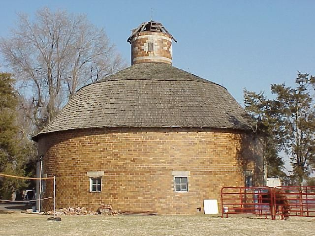 Round Barn - SW of Angola, Steuben Township, Steuben County, IN.