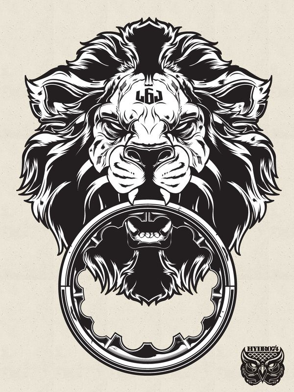 8e9fc05b6a27 Lebron james lion logo tattoo - photo#21