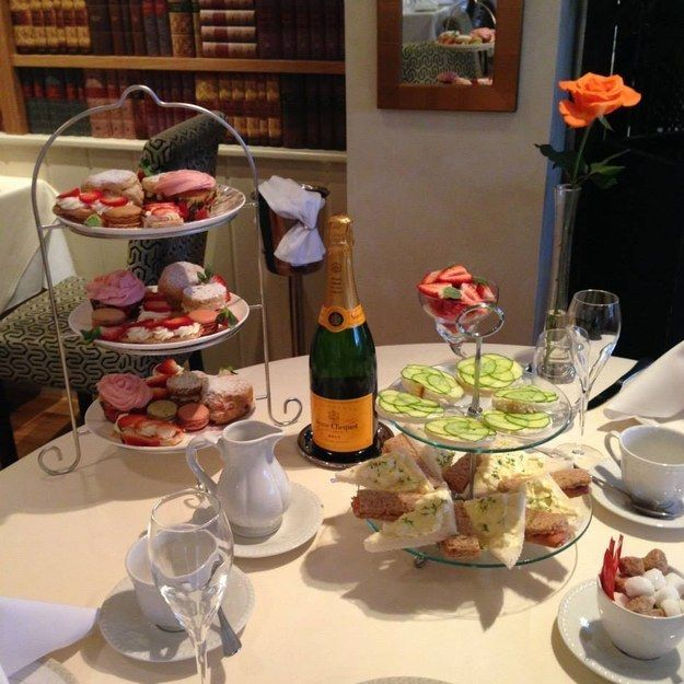 Afternoon tea at Le Bouchon in Heybridge |For those typically British afternoons where you just want to eat all the sugar as well as all the cucumber sandwiches your heart desires, head to Le Bouchon in Heybridge for an unforgettable (unless you drink too much of the sparkly stuff, of course) afternoon! 16 Things Everyone Must Eat In Essex