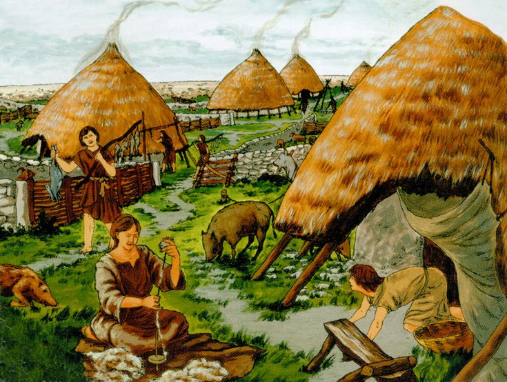 Late Bronze Age life at the Mooghaun Hillfort by David ...