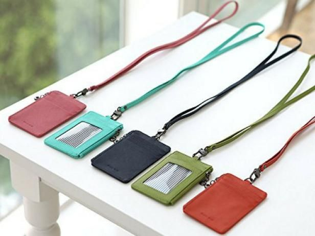 15 Must Pack Cruise Essentials Card Holder Leather Card Wallet Lanyard Wallet
