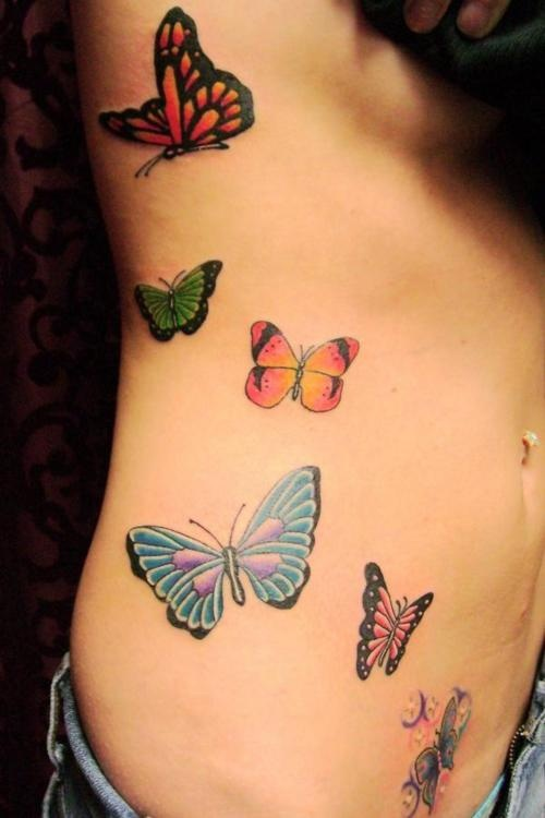 .butterfly tattoos
