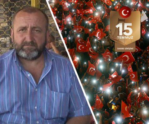 """5 dakikada tank kullanmayı öğrendi  FETÖ tarafından gerçekleştirilen 15 Temmuz darbe girişimi sırasında hain askerlerin elinden vatandaşlar tarafından ele geçirilen ve Göztepe'de E-5 karayolu üzerinde kalan tankı kullanmayı 5 dakika da öğrenen İBB'de görevli şoför Mehmet Köse, """"Daha önce tankı ancak dışarıdan gördüm. ancak hiç tereddüt etmedim. Normal bir araç gibi sürmeyi denedim ve başardım Allah'ın izni ile"""" dedi."""
