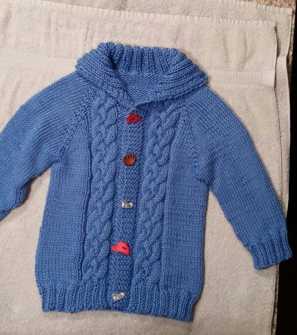 6-12mo knitted cardigan