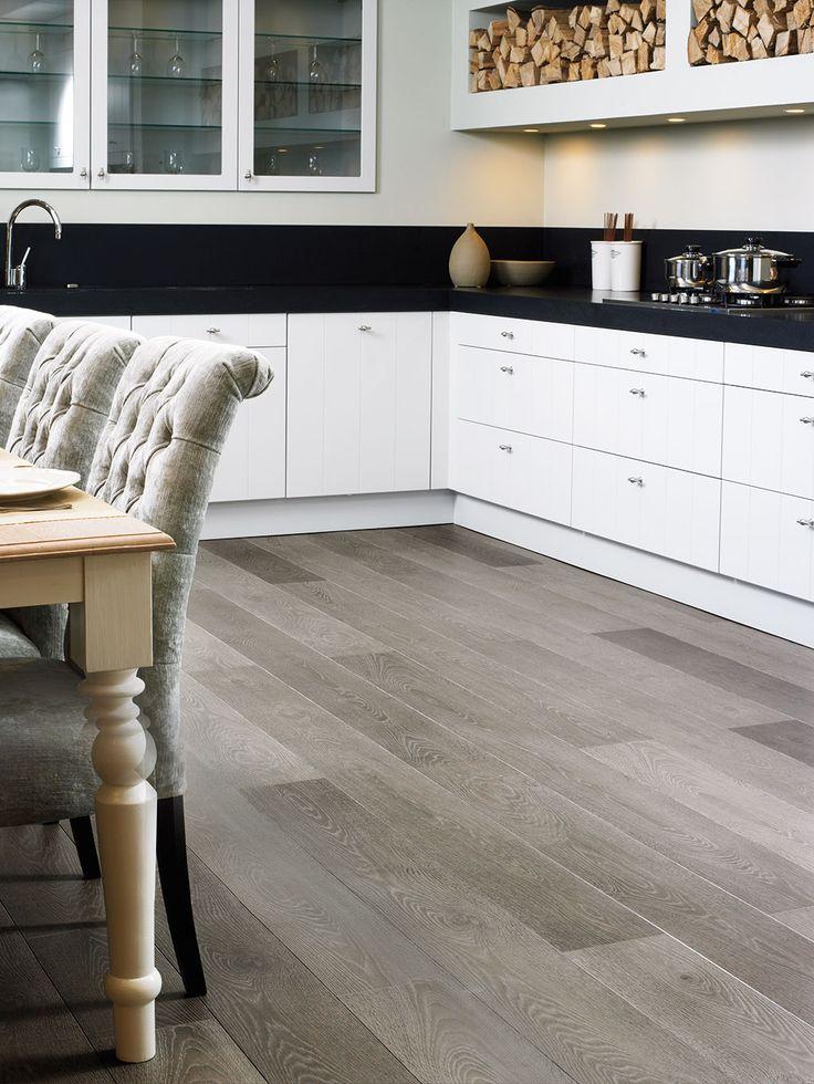 QuickStep Largo 'Grey vintage oak, planks' (LPU1286
