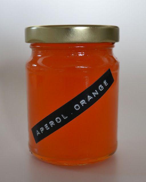 Aperol Orangen Marmelade  Geschenke Aus Der K&252che / Gifts From The