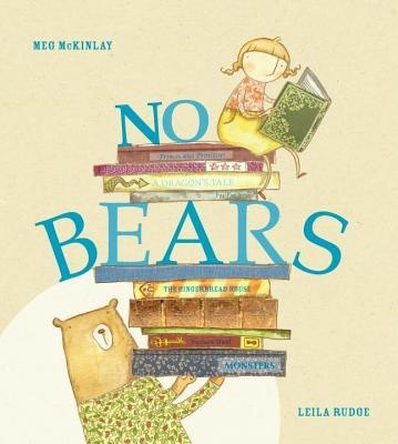 The heroine of this book shares my eldest daughter's name so that may explain part of the appeal of No Bears. But its also a very funny story about a girl who just wants a traditional story with fairies and princesses, only to find out that bears can be pretty handy when they do appear on the page.