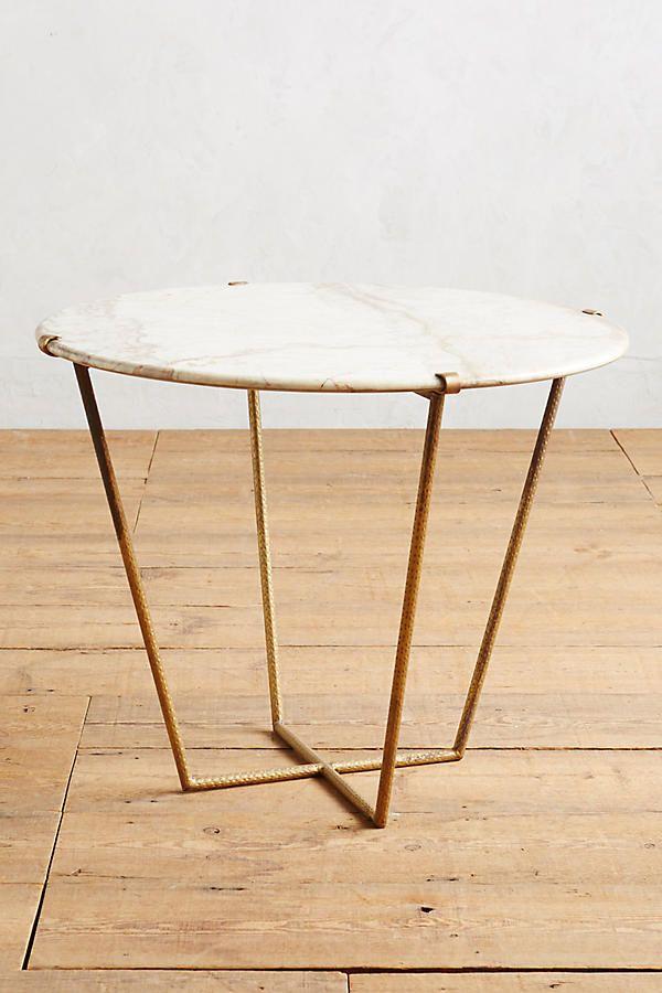 Slide View: 1: Tisch mit Steinplatte, groß
