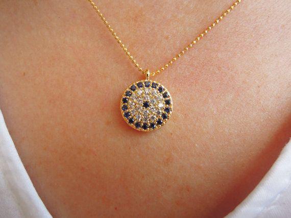 Turkish jewelry Turkish Evil eye necklaceevil eye by ebrukjewelry