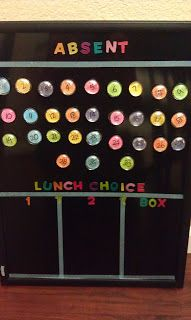 Lunch Count Board