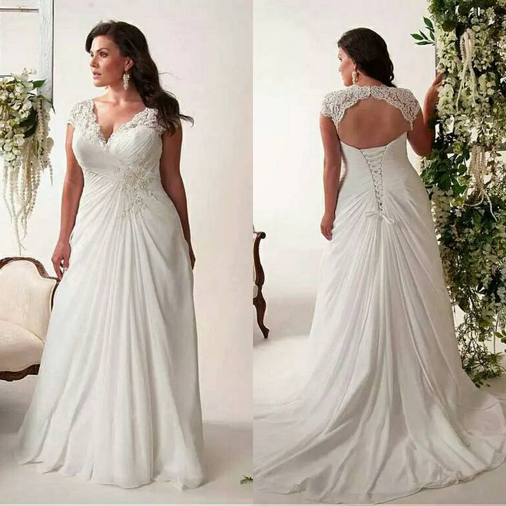 Best 25  Plus size wedding gowns ideas on Pinterest | Curvy ...