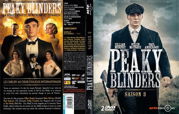 Jaquette DVD Peaky blinders Saison 3