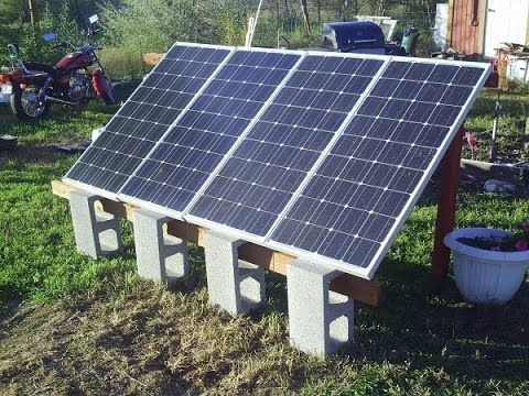 Small Solar Power System Off Grid Appliances and Gadgets - YouTube