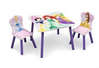 Dětský dřevěný stůl Princess III