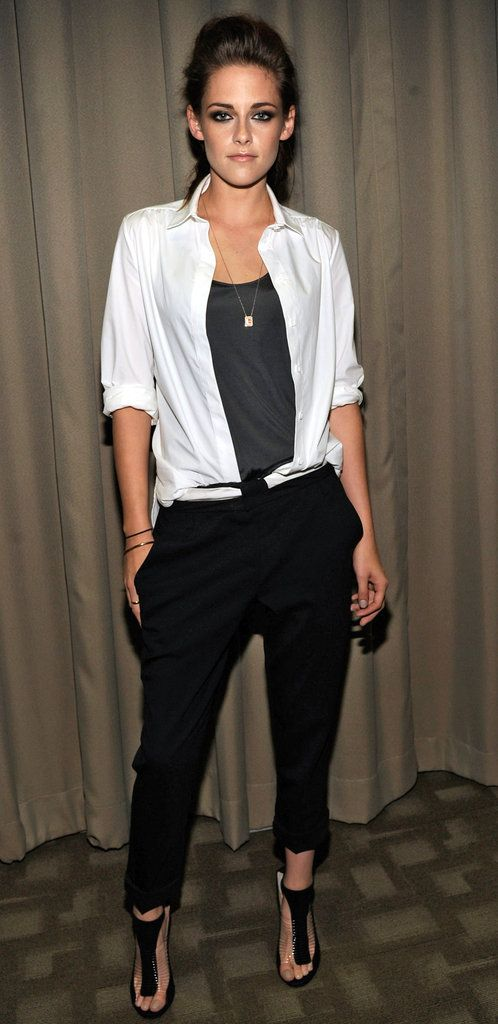 good job kristen stewart, or good job kristen stewart's stylist is more like it.