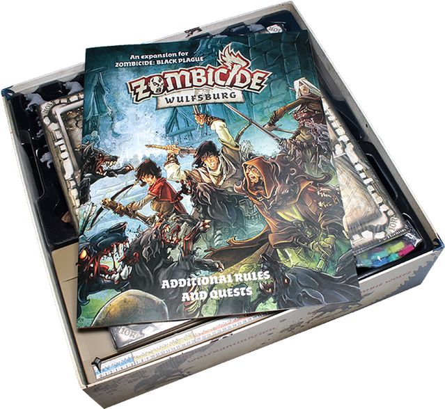 Zombicide: Black Plague - Wulfsburg - open box