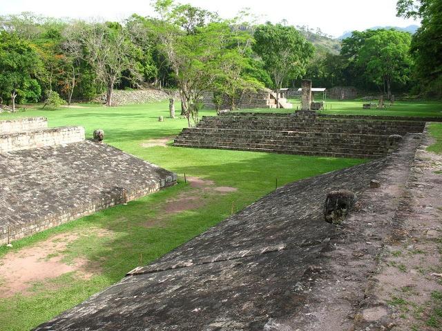 Maya Site of Copan, Honduras