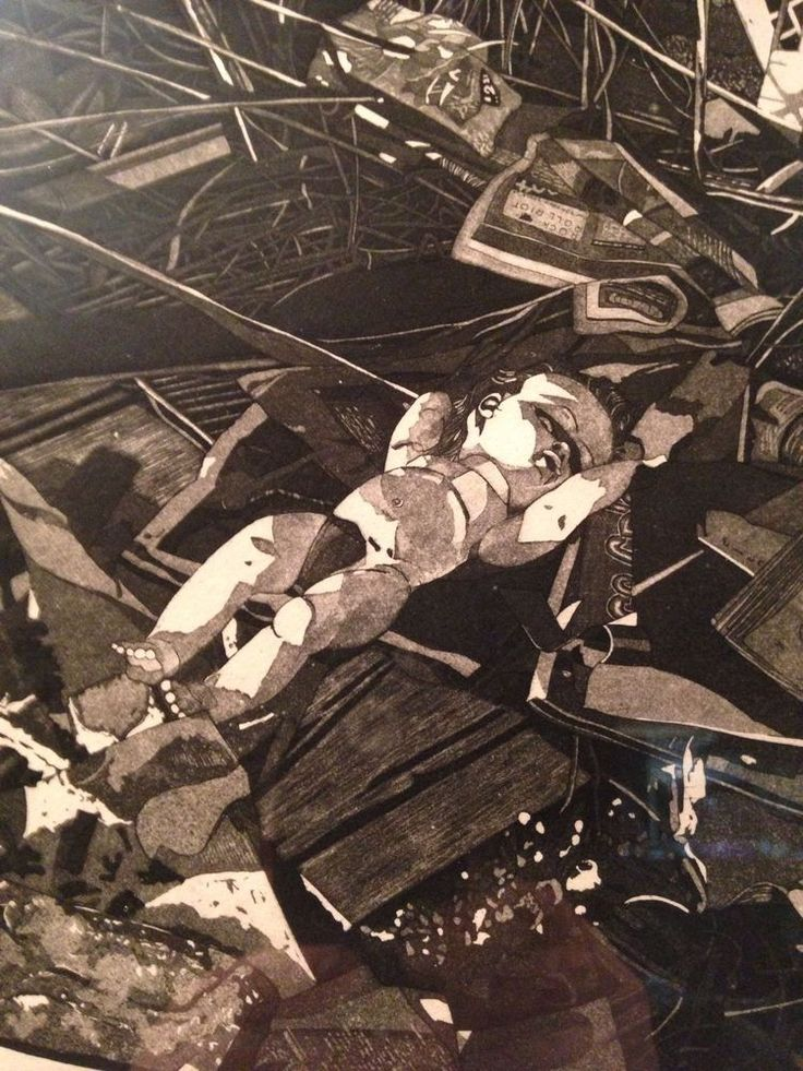 Martin Levine The Fable Etching Aquatint Artist Proof
