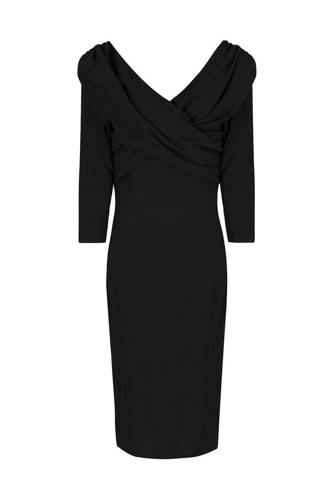 Collectif Knitted Pencil Wiggle Dress