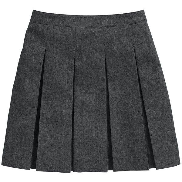 Top Class Girls School Uniform Woven Standard Skirts (2 Pack) ❤ liked on Polyvore featuring skirts, bottoms, uniform and school uniform