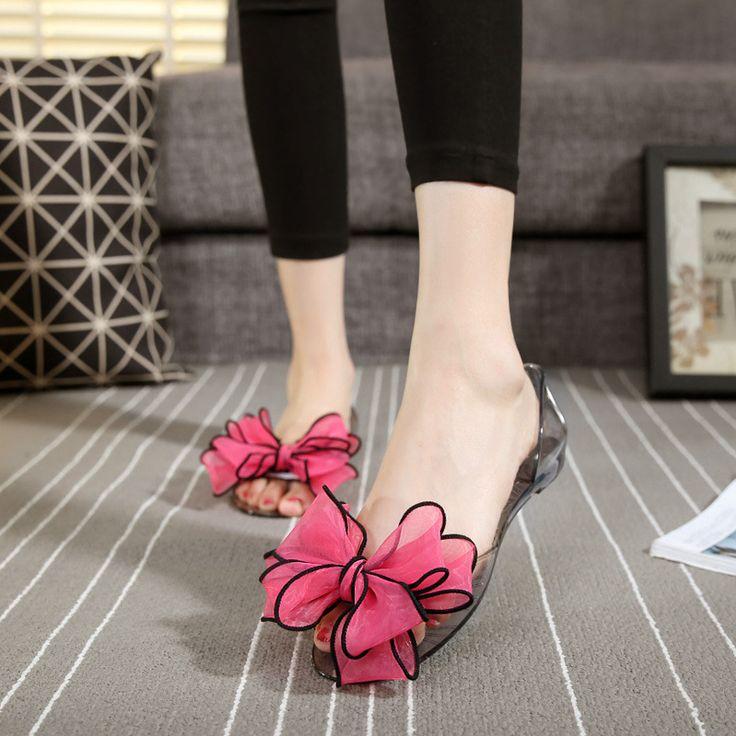 $9.79 (Buy here: https://alitems.com/g/1e8d114494ebda23ff8b16525dc3e8/?i=5&ulp=https%3A%2F%2Fwww.aliexpress.com%2Fitem%2FWomen-Jelly-Sandals-Beach-Jelly-Shoes-Woman-Summer-Style-Flip-Flops-Bowtie-Slippers-Open-Toe-Slip%2F32791334039.html ) Women Jelly Sandals Beach Jelly Shoes Woman Summer Style Flip Flops Bowtie Slippers Open Toe Slip On Flats Casual Women Shoes for just $9.79
