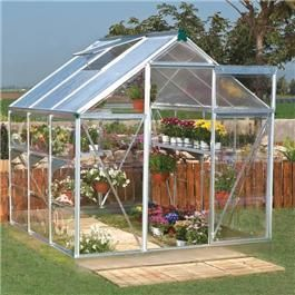 BillyOh silver Greenhouses from £204 from Gardenbuildingdirect