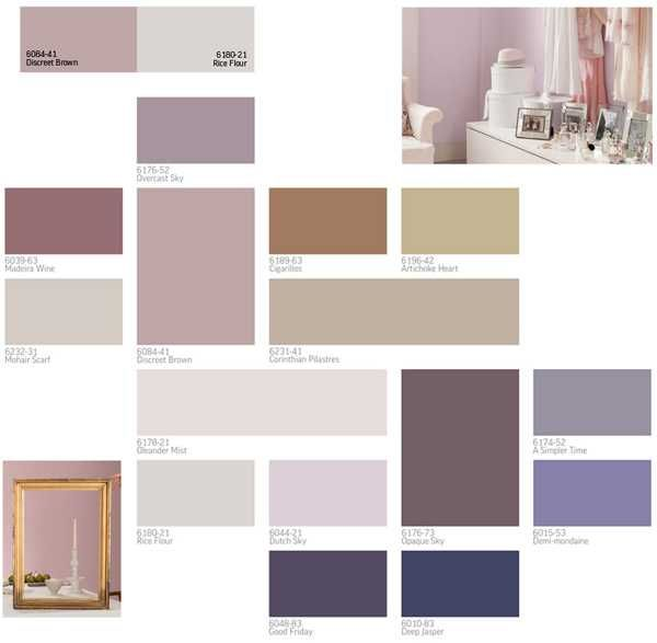 Purple and gray schemes for modern interior design and decor 2013