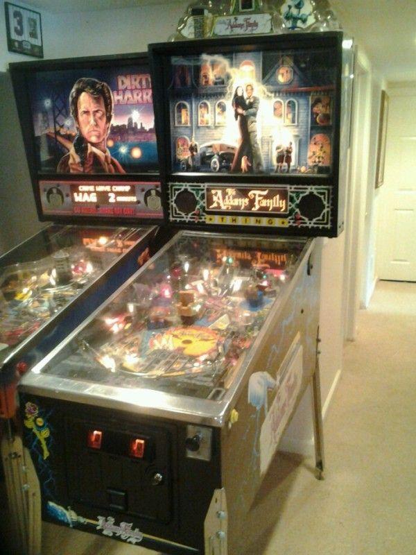 Addams Family Pinball Machine!!!